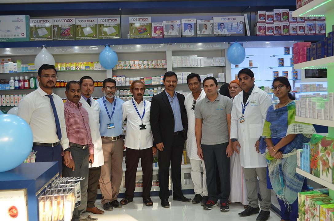 Shafi Pharmacy re-opening