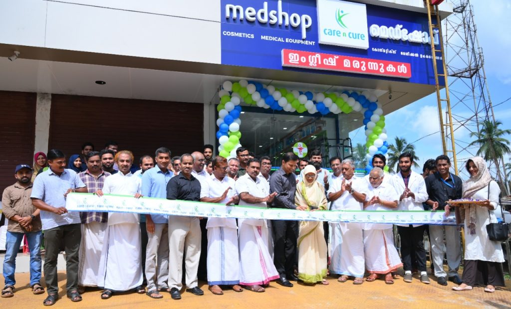 Care n Cure Medshop at Koduvally, Kerala, India was officially inaugurated on 8th October 2019