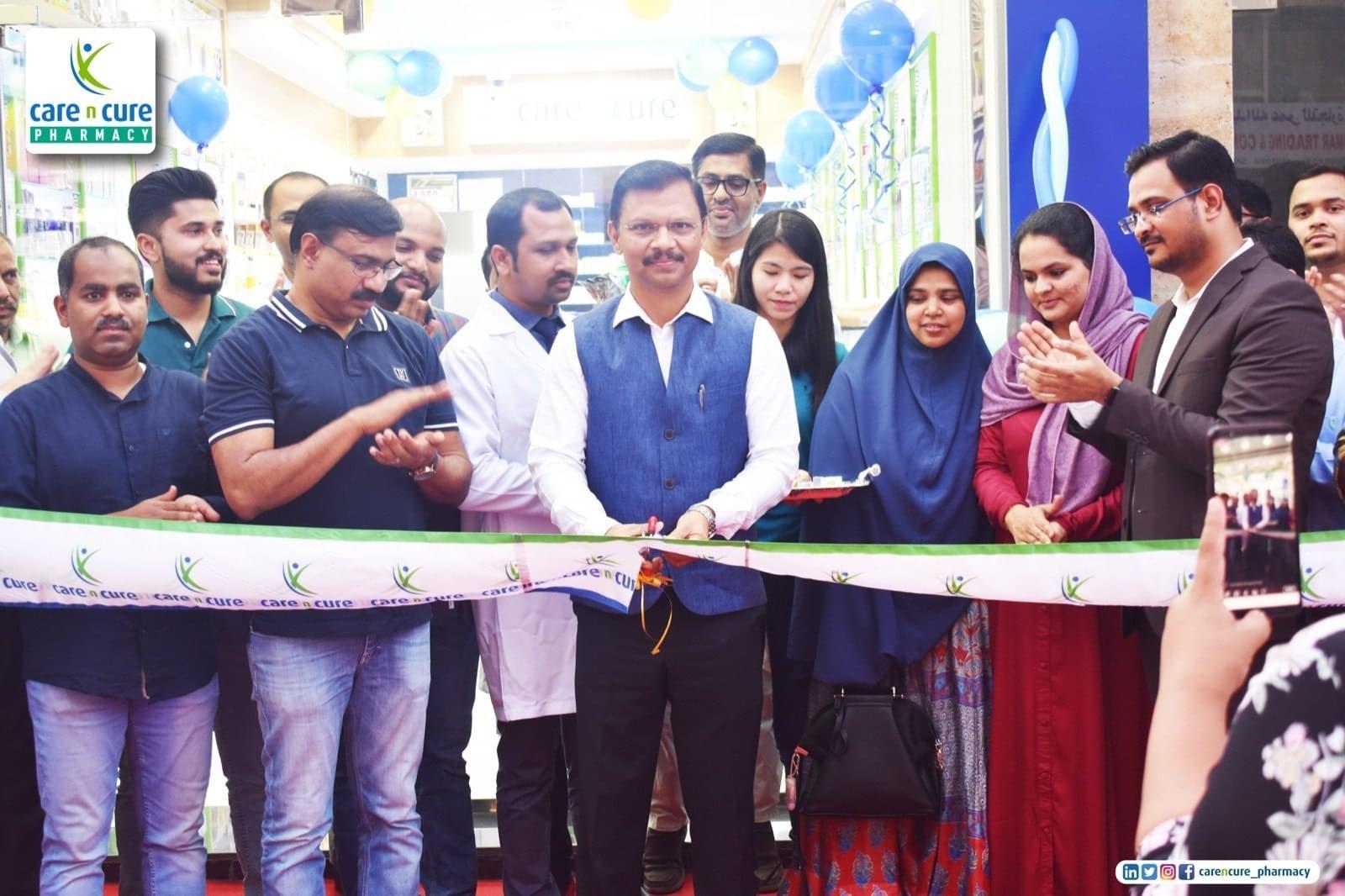Care n Cure Pharmacy Fareej Bin Abdelaziz Inauguration